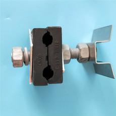 光缆导线杆引下线夹 OPGW光缆塔用引下卡具 现货直销