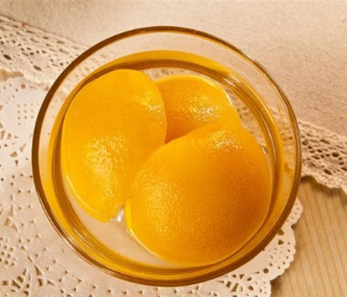 黄桃罐头|君果食品生产厂家|河南黄桃罐头