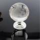 供应 水晶地球仪批发 办公桌 商务节日礼品 水晶摆件批发