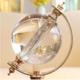 供应 水晶球地球仪创意工艺品摆设 客厅书房水晶工艺品摆件
