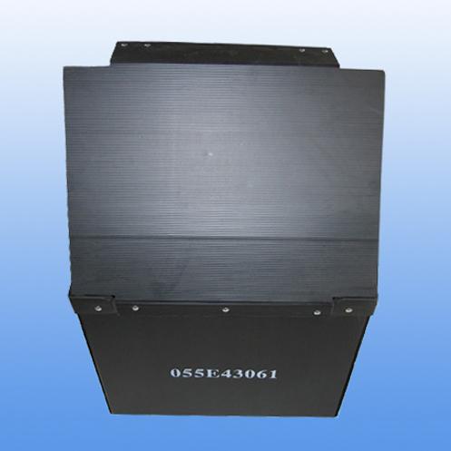 无锡恒宏塑胶专业生产蓝色塑料中空板周转箱 厂家直销 价格优惠