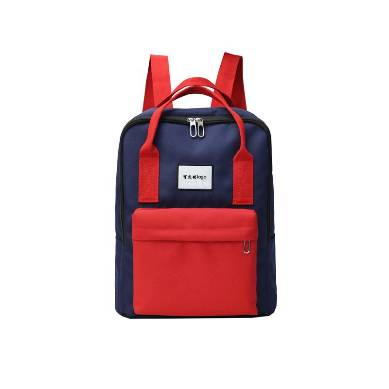 上海箱包供应定制双肩背包学生书包礼品定制可添加logo-1