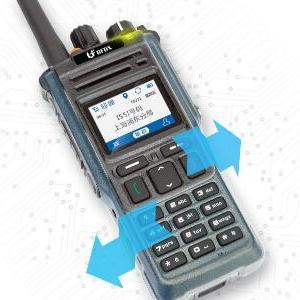 卫星定位实时调度!精准TD950数字集群对讲