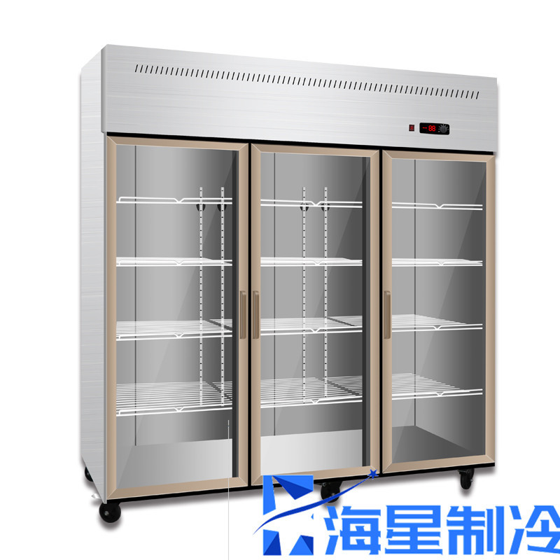 鄭州立式冷藏展示柜價格 展示冷柜 玻璃門冷藏柜