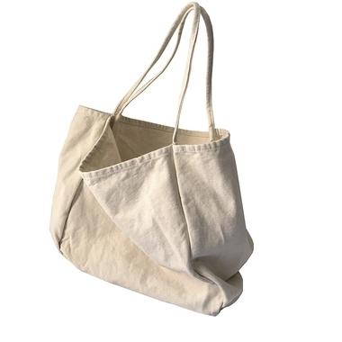 供应 大容量手提环保袋秋冬单肩文艺帆布包手提袋男女
