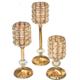 供应 水晶灯架批发 水晶烛台摆件 现代简约餐桌羽毛装饰品 欧式水晶蜡烛