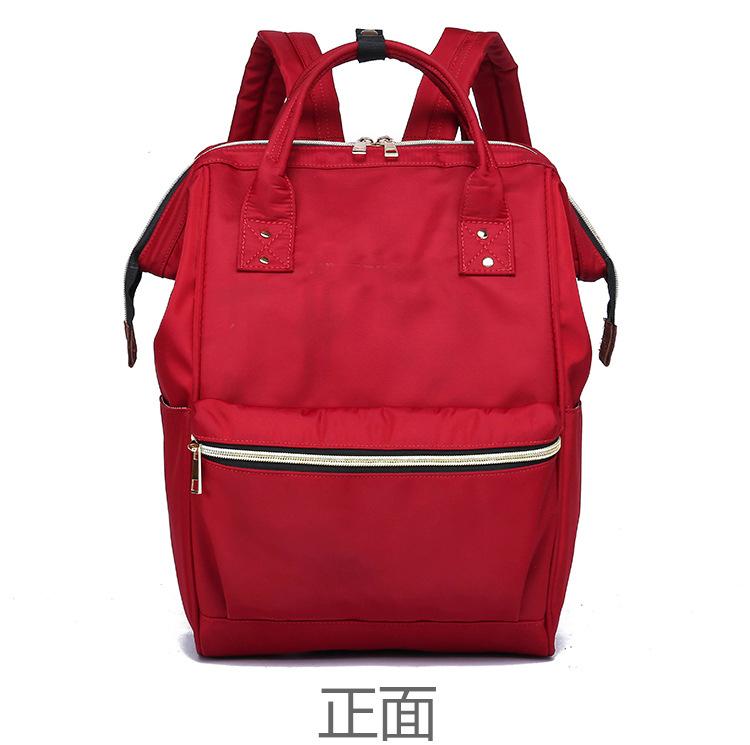 上海箱包供应定制双肩背包学生书包妈咪包来图打样可定制logo