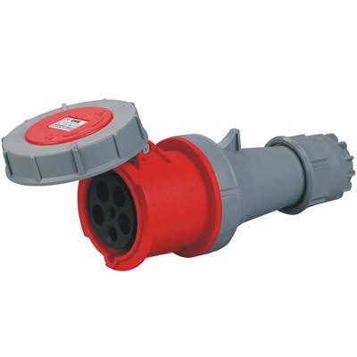 63A工业插头插座220-380v红色CEE-2352