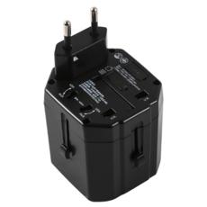 供应 转换插头全球通用USB插座转换器