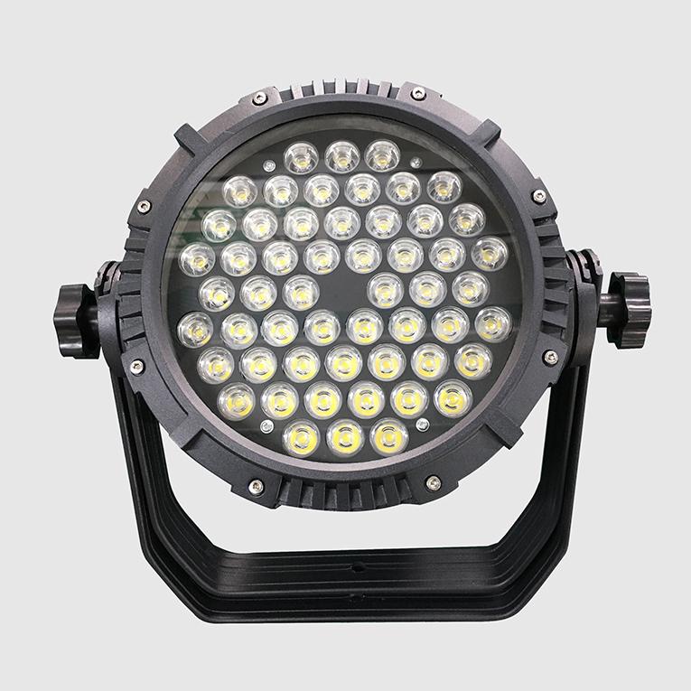 厂家供应LED圆形投光灯 36w54w108w户外防水射灯 大楼外墙亮化照明 广场廊柱投光灯
