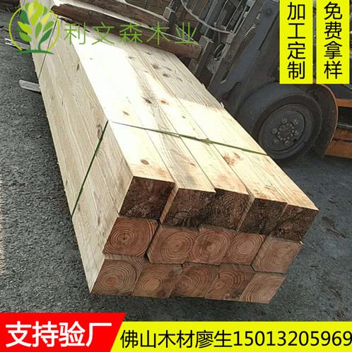 佛山厂家直销 枕木垫木吊车枕木 铁路桥梁建设枕木 大木方 铝艺雕模