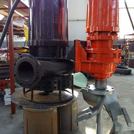 高耐磨潜水排汚泥泵 加工定制高扬程电动抽浆泵