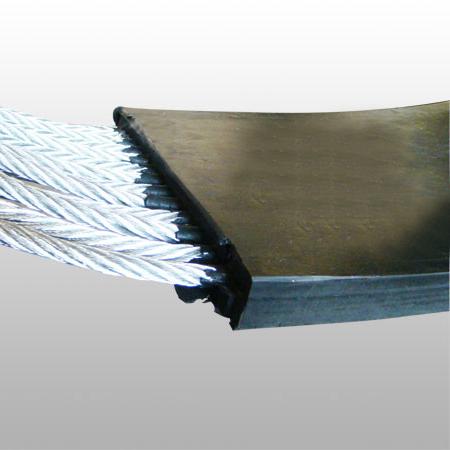 直销唐山钢丝胶带提升机皮带-钢铁厂用斗式提升机皮带厂家报价