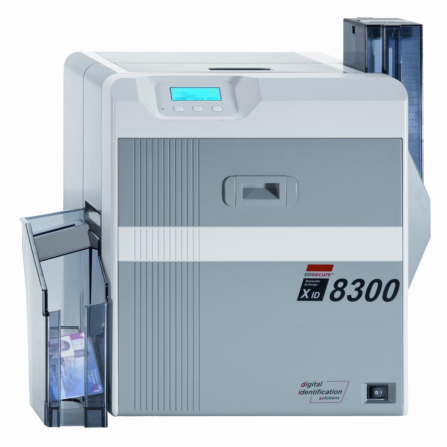 一级代理玛迪卡XID8300 热升华再转印证卡打印机